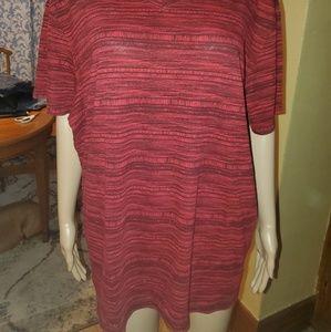 American Rag Shirts - American Rag, Size XXL, red & black t-shirt.